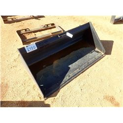 "68"" LOW PROFILE BUCKET W/B.O.C.E., FITS STEER LOADER (B-5)"