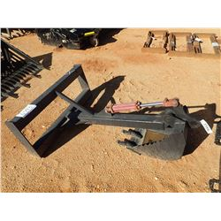 BACKHOE ATTACH, FITS SKID STEER LOADER (B-5)