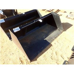 "78"" SNOW & LITTER BUCKET, FITS SKID STEER LOADER (B-5)"