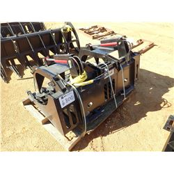 "66"" BRUSH/ROCK GRAPPLE, FITS SKID STEER LOADER (B-5)"
