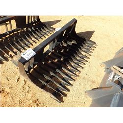 "66"" ROCK BUCKET, FITS SKID STEER LOADER (B-5)"