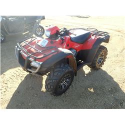 2005 HONDA RUBICON 500 ATV, VIN/SN:5Y4AM06Y95A00704 - 4X4, AUTOMATIC, METER READING 483