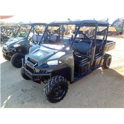 2016 POLARIS 900 UTV, VIN/SN:4XARVAD19GT133969 - CREW CAB, DIESEL ENGINE, DUMP BED, METER READING 67