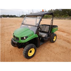 2014 JOHN DEERE XUV 550 UTV, VIN/SN:032602 - 4X4, GAS, WINDSHIELD, CANOPY, DUMP BED, METER READING 1