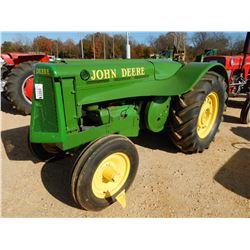 JOHN DEERE MODEL A FARM TRACTOR VIN/SN:A01485