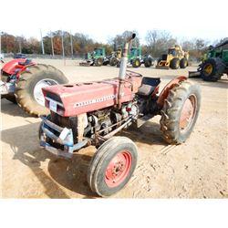 MASSEY FERGUSON 135 FARM TRACTOR, VIN/SN:433177 - DIESEL ENGINE