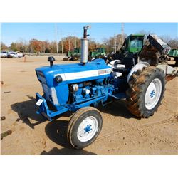 FORD 3000 FARM TRACTOR, VIN/SN:B902224 - DIESEL ENGINE, 14.9/13-28 REAR TIRES, METER READING 1,199 H