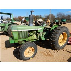 JOHN DEERE 2240 FARM TRACTOR, VIN/SN:182209 - 1 REMOTE, METER READING 2,034 HOURS