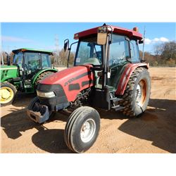 INTERNATIONAL JX100U FARM TRACTOR, VIN/SN:001283391 - 3 REMOTES, CAB, A/C, 480/85R34 TIRES
