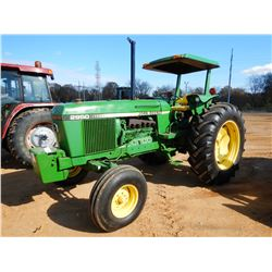 JOHN DEERE 2950 FARM TRACTOR, VIN/SN:564782 - (1) REMOTE, CANOPY, METER READING 3,417 HOURS
