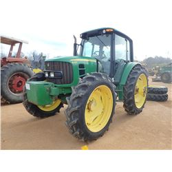 2012 JOHN DEERE 6430 FARM TRACTOR, VIN/SN:700728 - MFWD, 3 REMOTES, CAB, A/C, 13.6-46 TIRES, METER R
