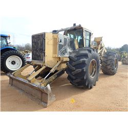 TIGERCAT 620E SKIDDER, VIN/SN:4201 - GRAPPLE, DUAL ARCH, CAB, A/C, 35.5L-32 TIRES, METER READING 8,2
