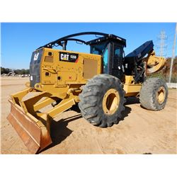 2016 CAT 535D SKIDDER, VIN/SN:MTP00324 - GRAPPLE, DUAL ARCH, WINCH, CAB, A/C, 30.5R-32 TIRES, METER