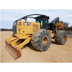 2016 CAT 535D SKIDDER, VIN/SN:MTP00343 - GRAPPLE, DUEL ARCH, WINCH, CAB, A/C, 35.5L-32 TIRES, METER