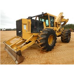 2014 TIGERCAT 620E SKIDDER, VIN/SN:6206427 - GRAPPLE, DUAL ARCH, WINCH, CAB, A/C, 30.5L-32 TIRES, ME