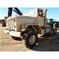 AM GENERAL M931A2 MILITARY TRUCK TRACTOR, VIN/SN:3101558 - 6X6, CUMMINS ENGINE, A/T, 14.00R20 TIRES,