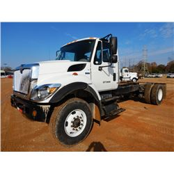 2012 INTERNATIONAL 7400 WORKSTAR CAB & CHASSIS, VIN/SN:1HTWDAZR5CJ605302 - S/A, IHC DIESEL ENGINE, A