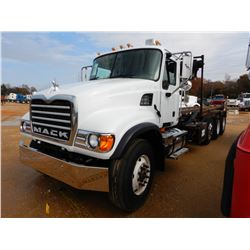 2003 MACK CV713 ROLL OFF, VIN/SN:1M2AG11C73M006224 - TRI-AXLE, AI 350 MACK DIESEL ENGINE, 10 SPEED T