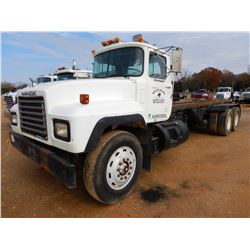 1995 MACK RD688S ROLL OFF TRUCK, VIN/SN:1M2P267Y3SM023948 - T/A, MACK DIESEL ENGINE, 8 SPEED TRANS,