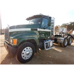 2014 MACK CHU613 TRUCK TRACTOR, VIN/SN:1M1AN07Y6EM016737 - T/A, 445HP MACK MP8 ENGINE, 10 SPEED TRAN