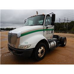 2012 INTERNATIONAL 8600 TRUCK TRACTOR, VIN/SN:1HSHWSHN6CH133999 - S/A, IHC DIESEL ENGINE, 10 SPEED T
