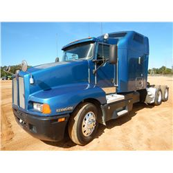 2007 KENWORTH T600 TRUCK TRACTOR, VIN/SN:1XKADB9X47J179415 - T/A, CAT C15 ENGINE, 13 SPEED TRANS, AI