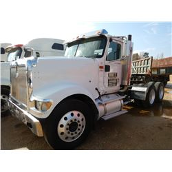 2005 INTERNATIONAL 9900i TRUCK TRACTOR, VIN/SN:2HSCHAPR95C183664 - T/A, 10 SPEED TRANS, 40K REARS, A