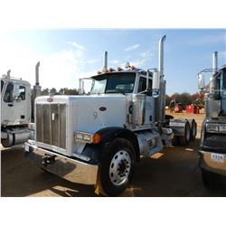 2006 PETERBILT TRUCK TRACTOR, VIN/SN:1XP5DB9X86D662169 - T/A, CAT C15 ENGINE, 10 SPEED TRANS, 40K RE