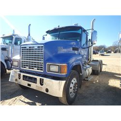 2008 MACK CHU613 TRUCK TRACTOR, VIN/SN:1M1AN07Y38N001014 - T/A, 445C MPS MACK ENGINE, 10 SPEED TRANS