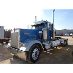 1993 KENWORTH TRUCK TRACTOR, VIN/SN:1XKWDB9X2PS583734 - CAT 3406E DIESEL ENGINE, 15 SPD TRANS, AIR R