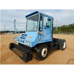 1986 CAPACITY T24000E YARD SPOTTER TRUCK, VIN/SN:R1554091 - S/A, DISEL ENG, METER READING 1,424 HOUR