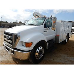2006 FORD F650 MECHANICS TRUCK, VIN/SN:3FRWF65F06V315277 - CUMMINS DIESEL ENGINE, 7 SPEED TRANS, SUM