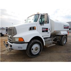 2005 STERLING L8500 WATER TRUCK, VIN/SN:2FWBAVDC15AN44218 - S/A, CAT C7 DIESEL ENGINE, 7 SPEED TRANS