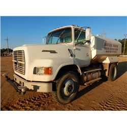 1996 FORD L-900 AERO MAX WATER TRUCK, VIN/SN:1FTYS95B4TVA13515 - S/A, DETROIT S60 ENGINE, 7 SPEED TR