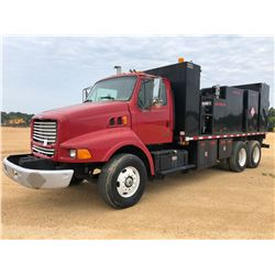 2000 STERLING FUEL & LUBE TRUCK, VIN/SN:2FZXBJBB0YAF63018 - T/A, CAT DIESEL ENGINE, ALLISON A/T, 100