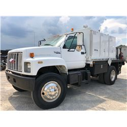 1994 GMC TOP KICK FUEL & LUBE TRUCK, VIN/SN:1GDM7H1J5RJ505943 - S/A, CAT DIESEL ENGINE, 8 SPEED TRAN