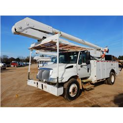 2007 INTERNATIONAL 4300 BUCKET TRUCK, VIN/SN:1HTMMAAN77H441970 - S/A, IHC DT466 ENGINE, ALLISON A/T,
