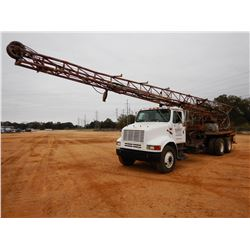 1999 INTERNATIONAL 8100 DRILL TRUCK, VIN/SN:1HSHBALNXRH89341 - T/A, CUMMINS DIESEL ENGINE, 9 SPEED T