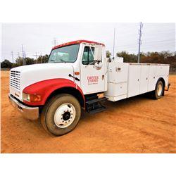1991 INTERNATIONAL 4900 SERVICE TRUCK, VIN/SN:1HTSDZ4P1MH346660 - IHC DIESEL ENGINE, 5 SPEED TRANS,