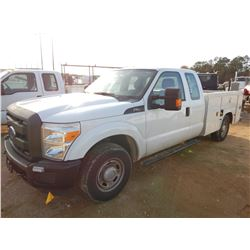 2014 FORD F250 SERVICE TRUCK, VIN/SN:1FT7X2A6XEEB42245 - EXT CAB, V8 GAS ENGINE, A/T, KNAPHEIDE SERV
