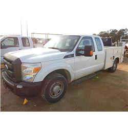 2014 FORD F250 SERVICE TRUCK, VIN/SN:1FT7X2A6XEEB42245 - EXT CAB, V8 GAS ENGINE, A/T, KNAPHEIDE SERV