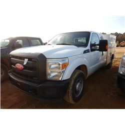 2011 FORD F250 SERVICE TRUCK, VIN/SN:1FD7X2A69BEC76932 - EXT CAB, V8 GAS ENGINE, A/T, KNAPHEIDE SERV