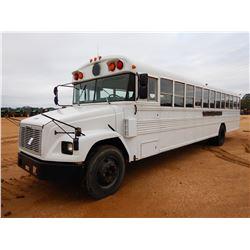 1998 FREIGHLINER SCHOOL BUS, VIN/SN:4UZ6CJAAXWC965627 - DIESEL ENGINE, A/T, 49 PASSENGER, ODOMETER R