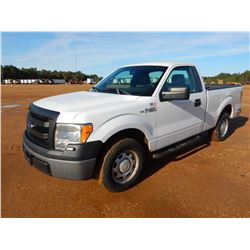 2014 FORD F150 PICKUP TRUCK, VIN/SN:1FTMF1CM2EFA46003 - GAS ENGINE, A/T, ODOMETER READING 74,050 MIL