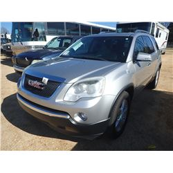2008 GMC ACADIA VIN/SN:1GKER337X8J199283 - GAS ENGINE, A/T, ODOMETER READING 188,477 MILES