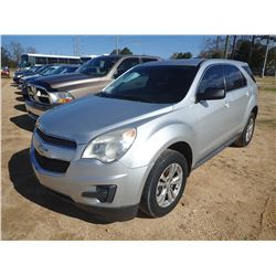 2012 CHEVROLET EQUINOX VIN/SN:2GNA1BEK0C6133832 - GAS ENGINE, A/T, ODOMETER READING 142,376 MILES