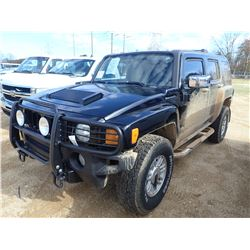 2006 HUMMER H3 VIN/SN:5GTDN136468101666 - GAS ENGINE, A/T, ODOMETER READING 111,471 MILES