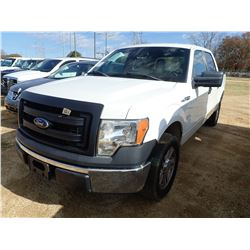 2013 FORD F150 PICKUP TRUCK, VIN/SN:1FTFW1CF6DFB54276 - CREW CAB, V8 GAS ENGINE, A/T, ODOMETER READI