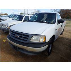 2000 FORD F150 PICKUP, VIN/SN:1FT2F1728YNB80555 - GAS ENG, A/T