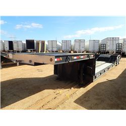 """LOWBOY TRAILER, VIN/SN:KYJ43988 - DOUBLE DROP, T/A, 21"""" WELL, 8'-6"""" WIDTH, EXCAVATOR TOAVGH, COVERED"""